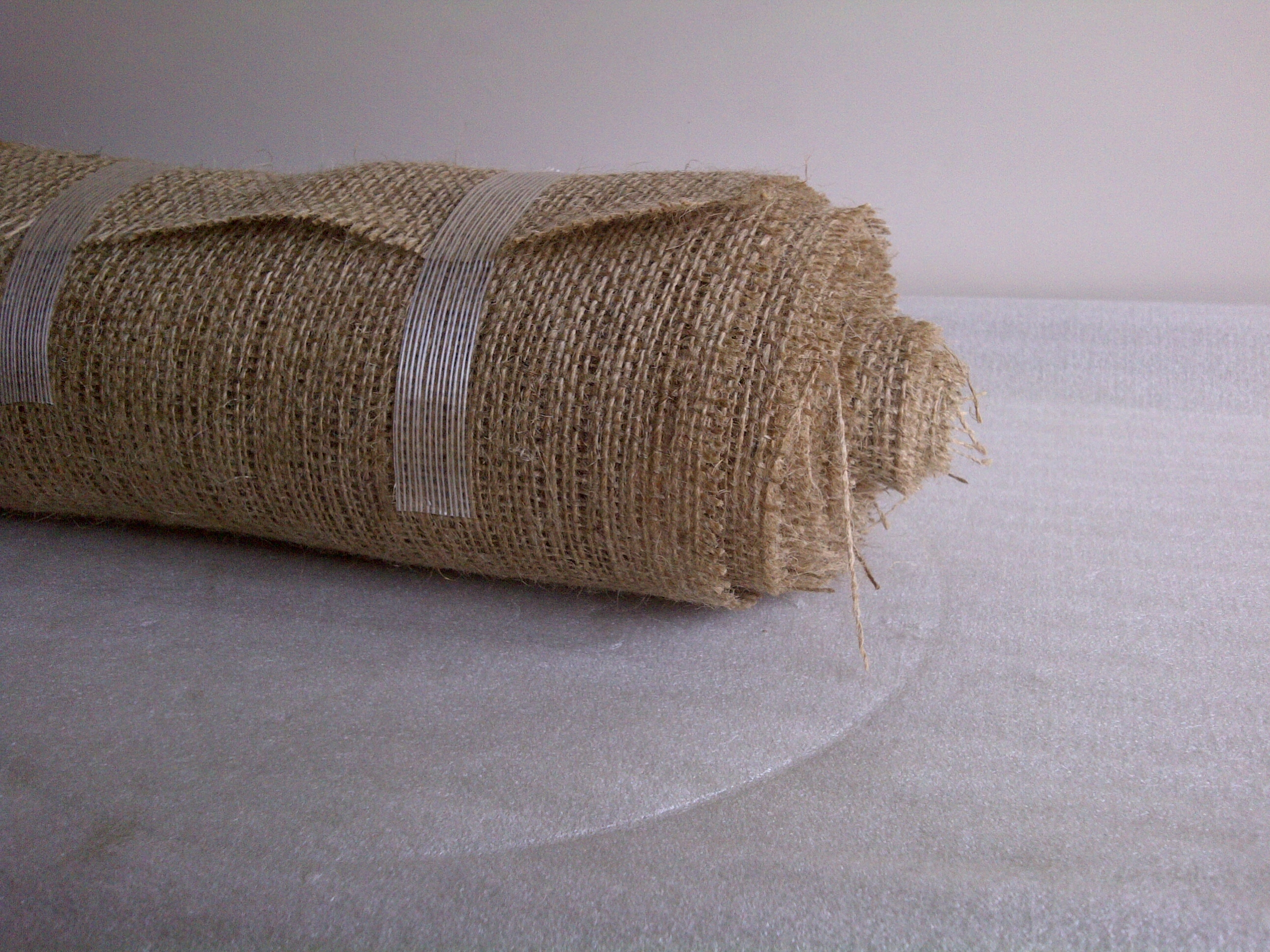 "3"" inch burlap ribbon (10 Yards)"