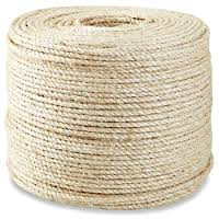 "1/4"" Natural Sisal Rope - 1500 ft"