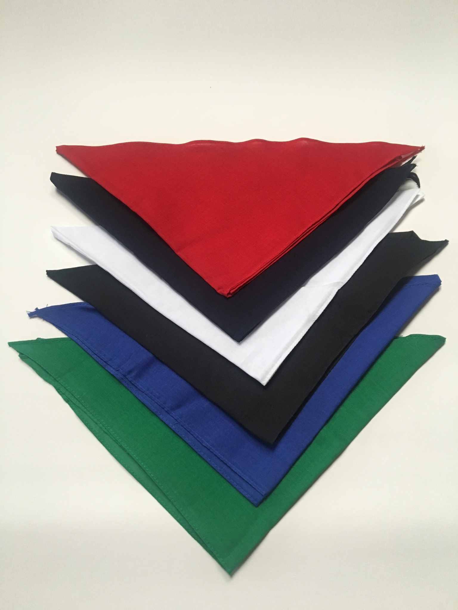 "Bandana Assortment Triangle 22"" x 22"" x 30"" (12 pk)"