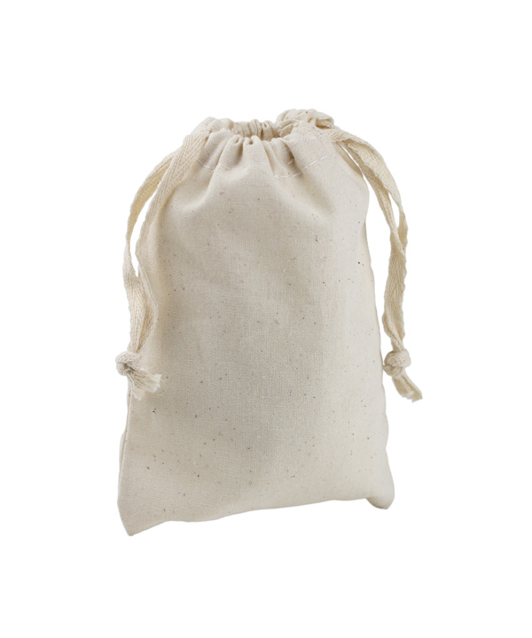 "3"" x 5"" Muslin Bags with Cotton Drawstring (12 Pk)"