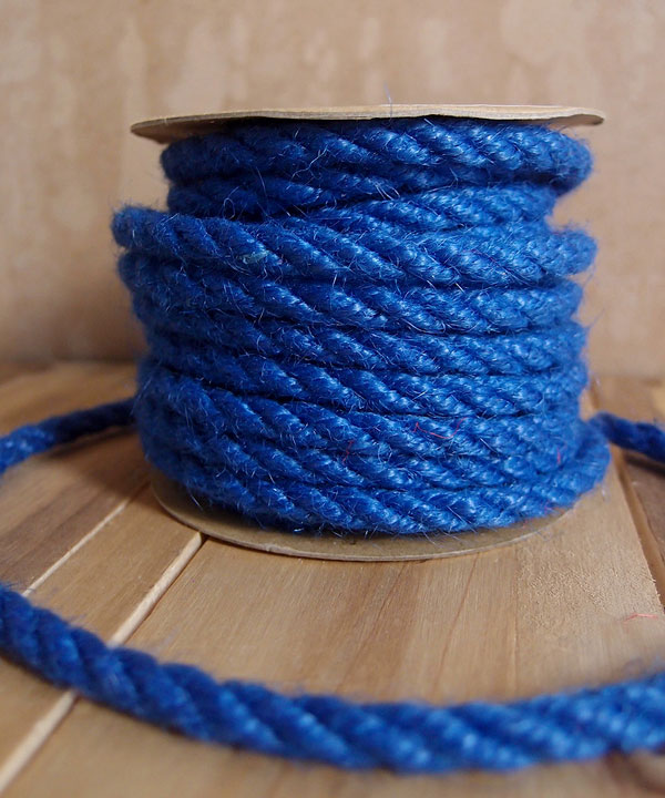 6mm Blue Jute Twine 10 Yards