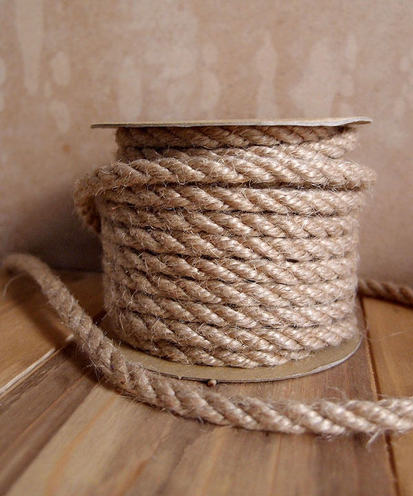 6mm Natural Jute Twine 10 Yards