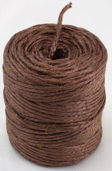 Brown Jute Twine 3-Ply 75 Yards