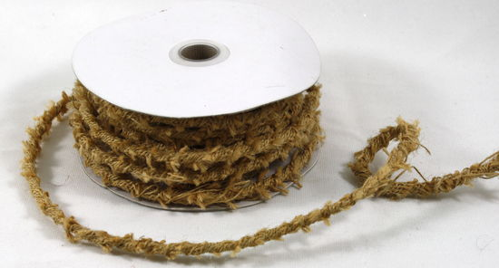 8mm x 10 Yards Jute Twine with Wire (Natural)