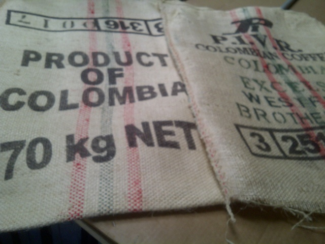 "Used Sisal Coffee Bags (10 Pack) Closeout 28"" x 36"""