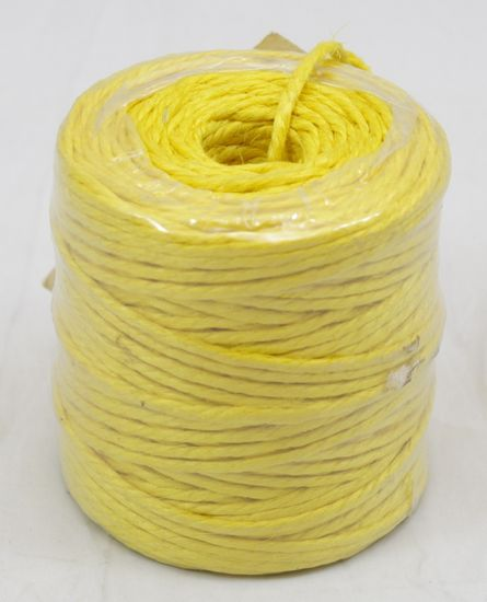 Yellow Jute Twine 3-Ply 75 Yards