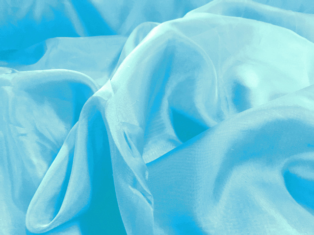 "118"" Aquamarine Voile Fabric By The Yard"