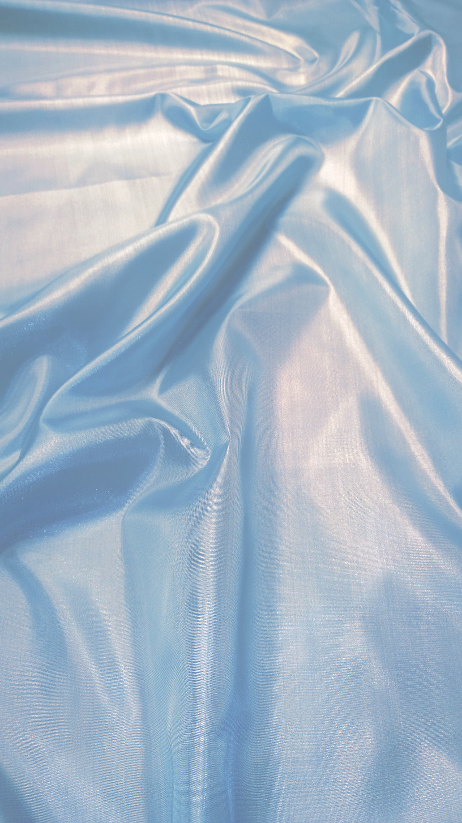 "Baby Blue Habotai Fabric 60"" - By The Yard"
