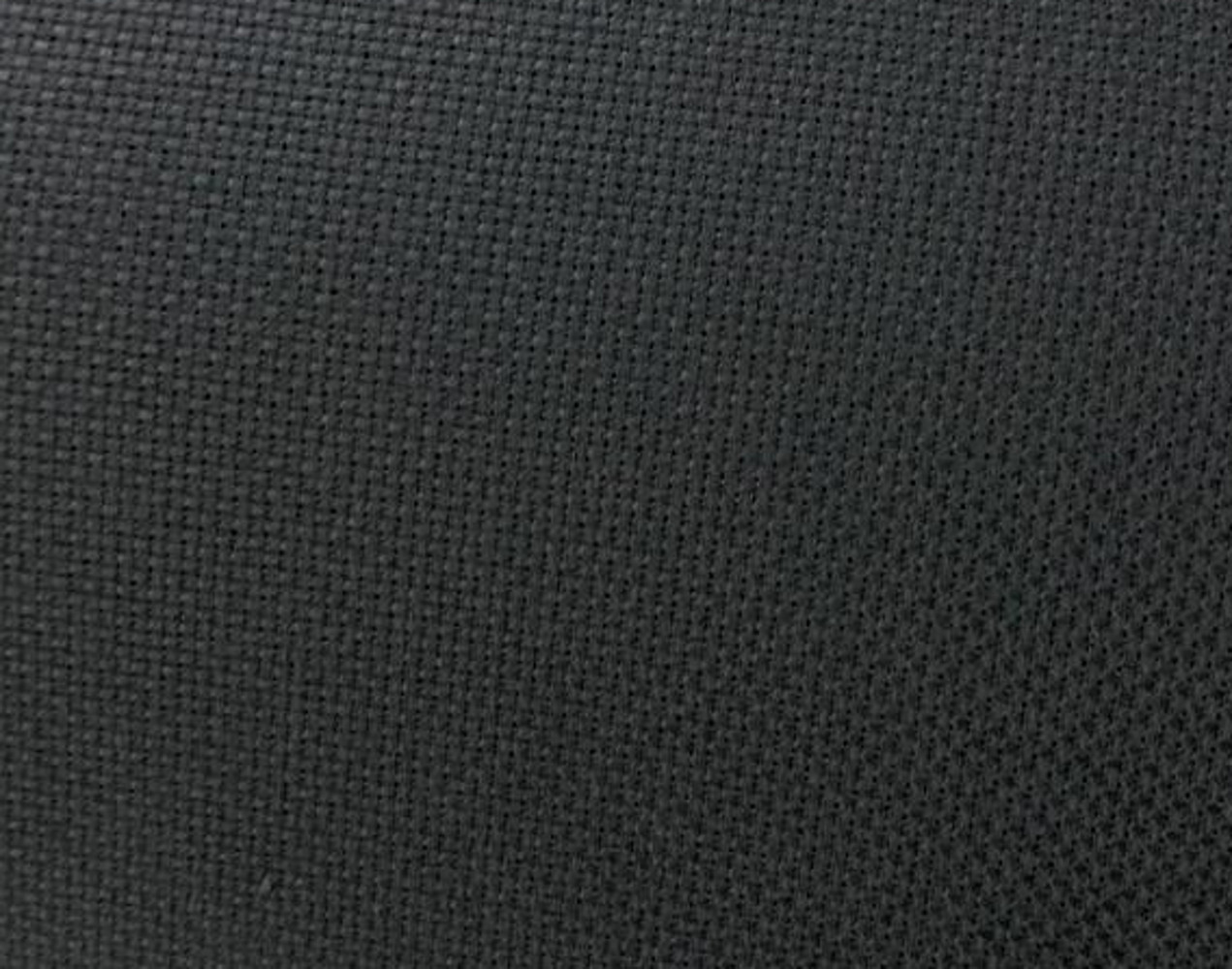 "Black Aida Cloth - 14 Count 60"" Wide By The Yard"