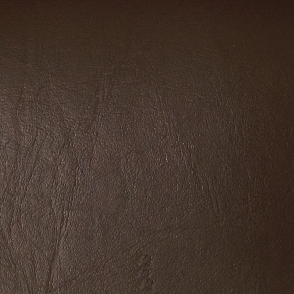 "54"" Brown Leather-like Upholstery Vinyl - Per Yard"