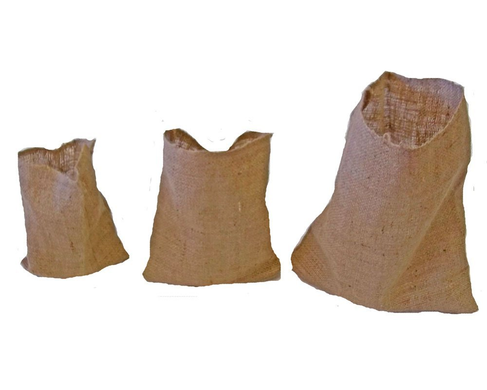 Burlap Bags without Drawstring