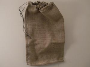 burlap sacks