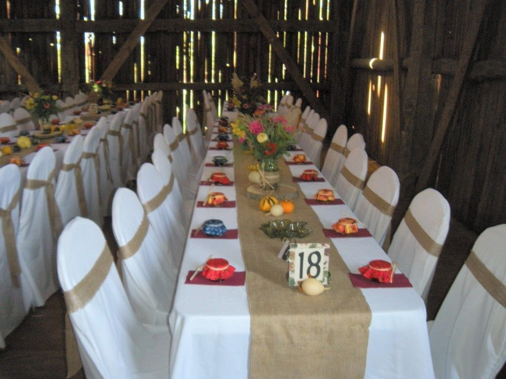 Burlap Table Runners For Weddings And Parties From