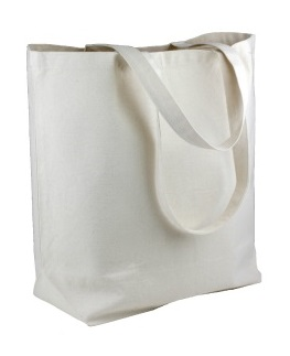 "Canvas Tote Bag 18"" x 15"" x 5-3/4"""