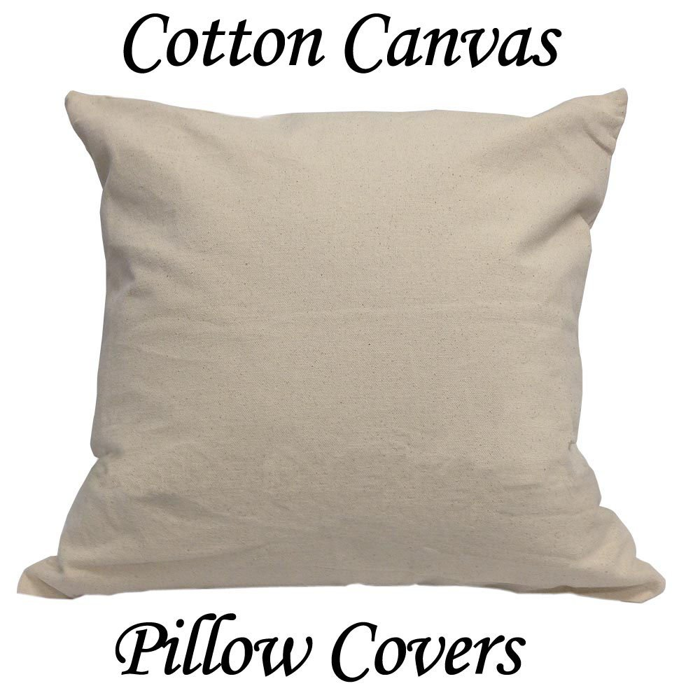 Canvas Pillow Cases