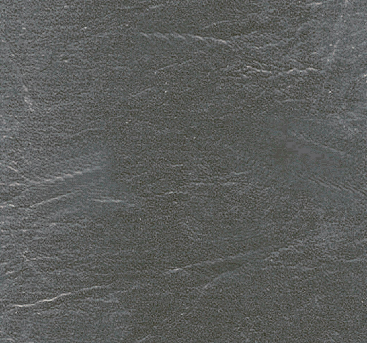 "54"" Charcoal Grey Leather-like Upholstery Vinyl - Per Yard"