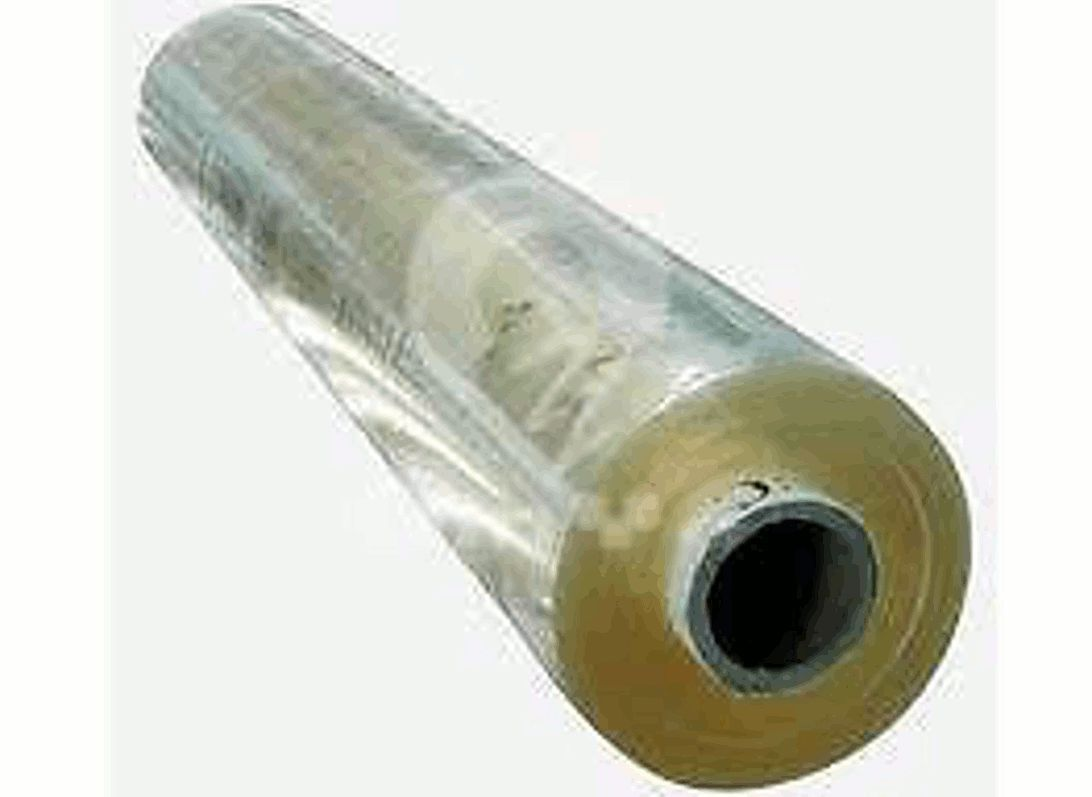 "6 Gauge Clear Vinyl 54"" Wide - 10 Yard Roll"