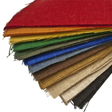 Colored Burlap Sheets