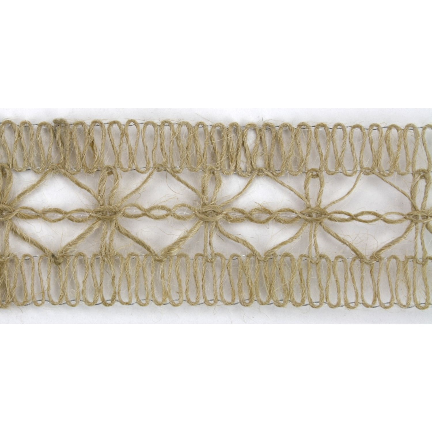 "1-5/8"" Net Burlap Ribbon Design 10 Yards"