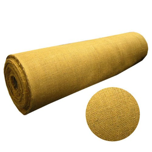 "48"" Wide Gold Burlap Roll - By The Yard"