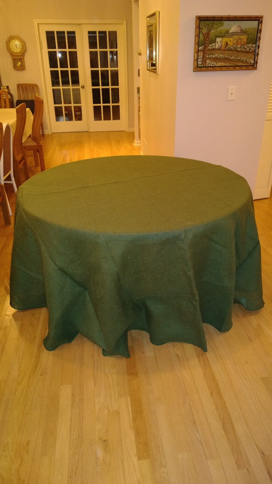Burlap Tablecloth Round Burlapfabric Com Burlap For