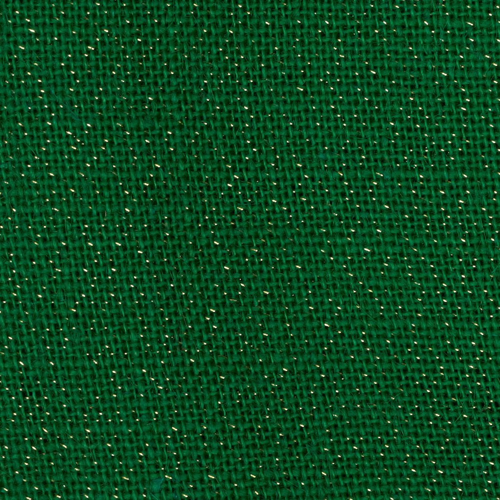 "60"" Green Sparkle Burlap - 15 Yard Bolt"