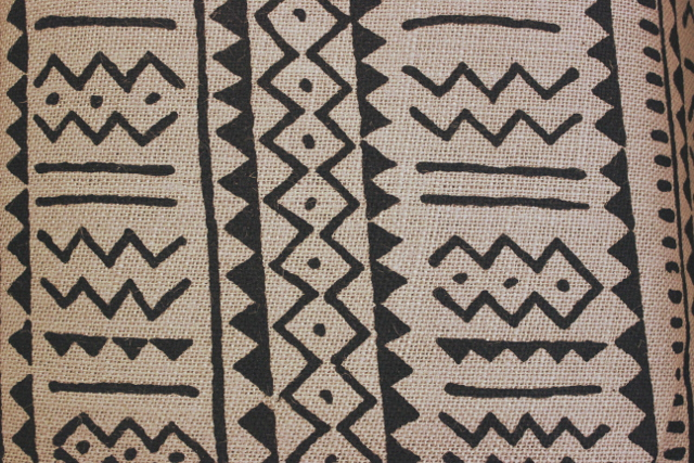 "60"" Island Batik - Grey Burlap - By The Yard"