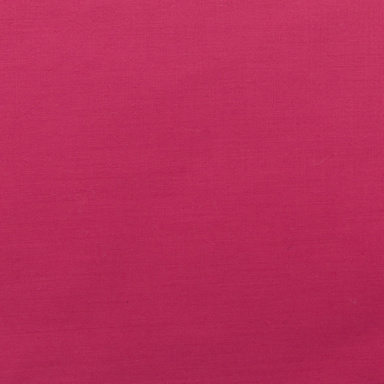 "Hot Pink Broadcloth Fabric 45"" - By The Yard"