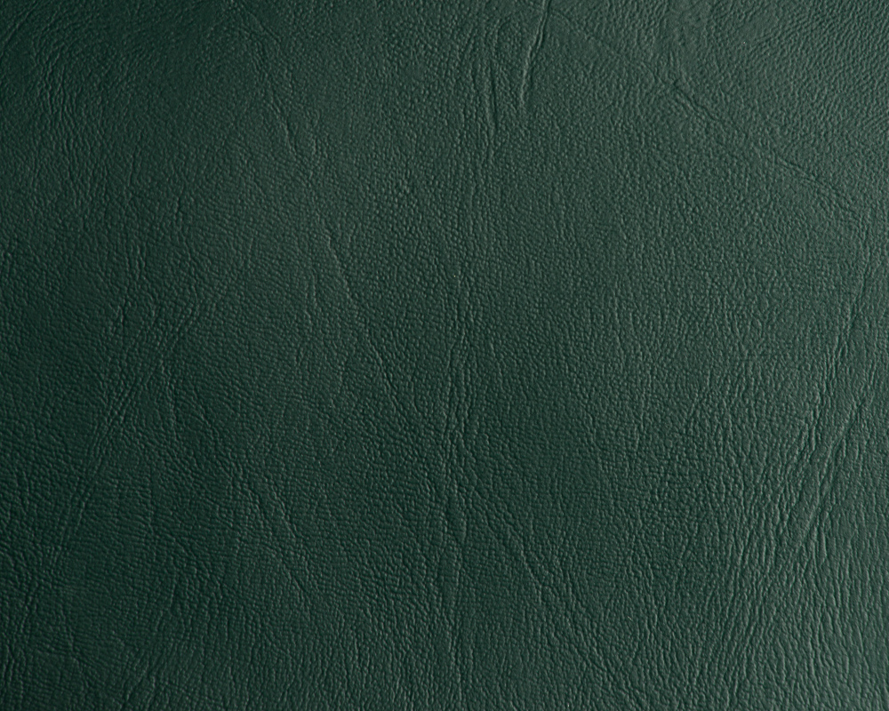 "54"" Hunter Green Leather Like Upholstery Vinyl - Per Yard"