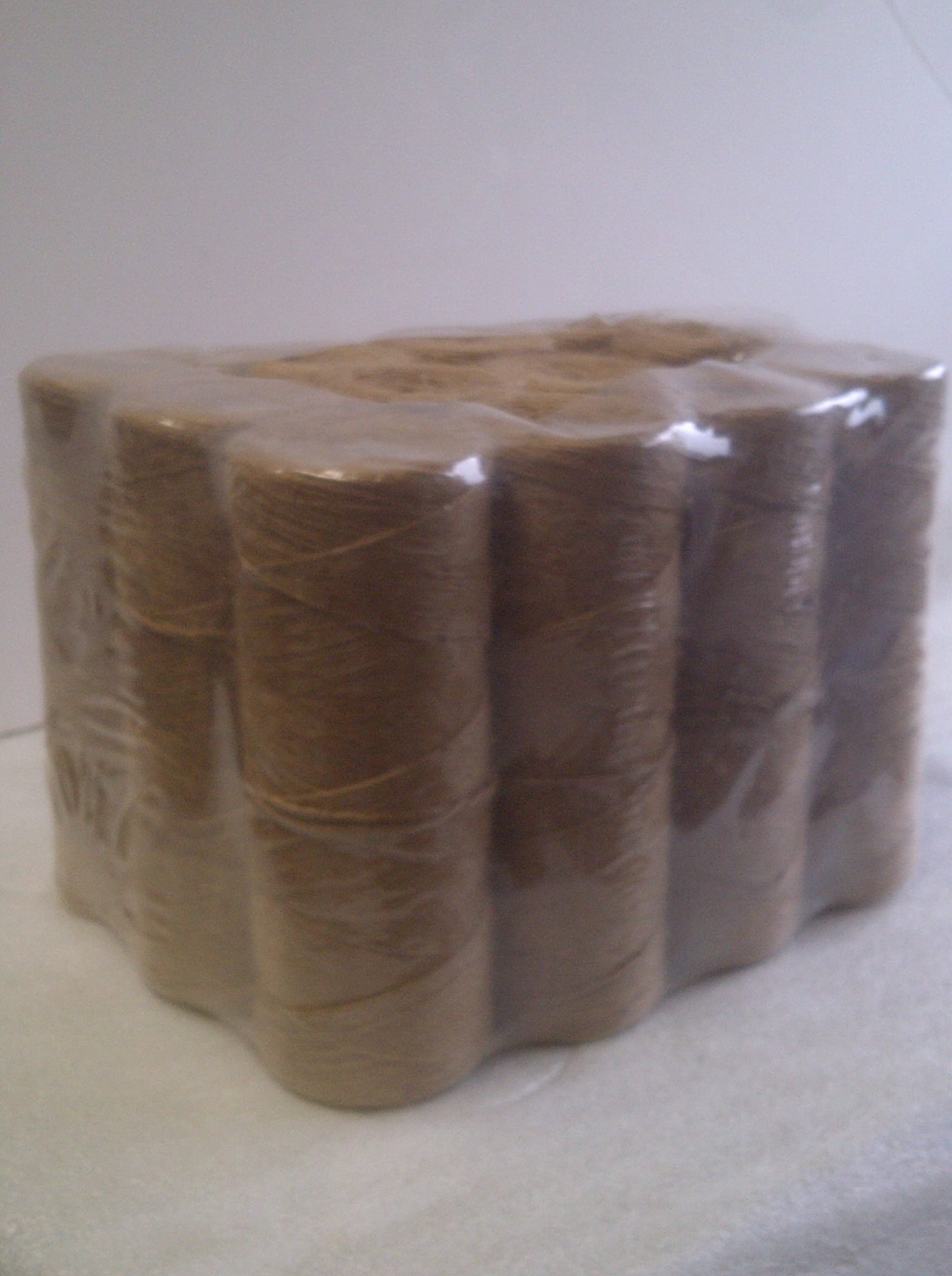 1-Ply Jute Twine 1/2 lb Tube (12 Pack)