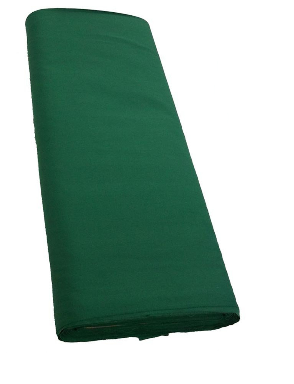 "58/60"" Kelly Green Broadcloth Sold By The Yard"