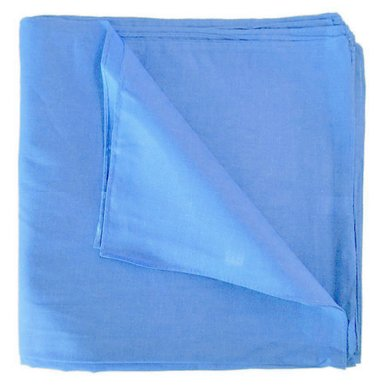 "Light Blue Bandanas - Solid Color 22"" x 22"" (12 Pack)"