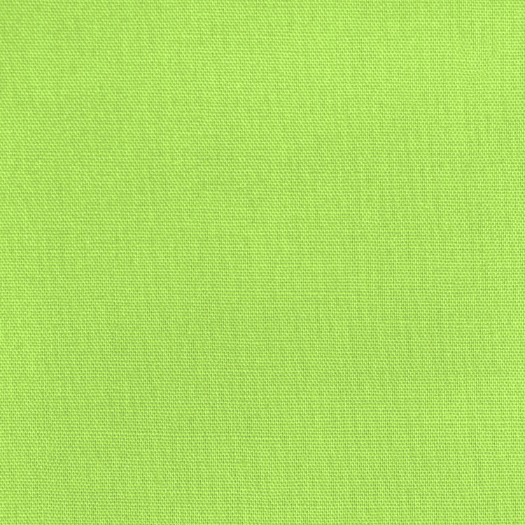 "Lime Broadcloth Fabric 45"" - By The Yard"