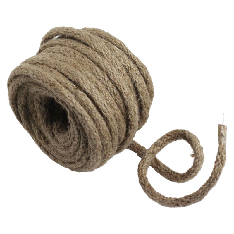 Natural Wired Jute Twine - 9 Yards