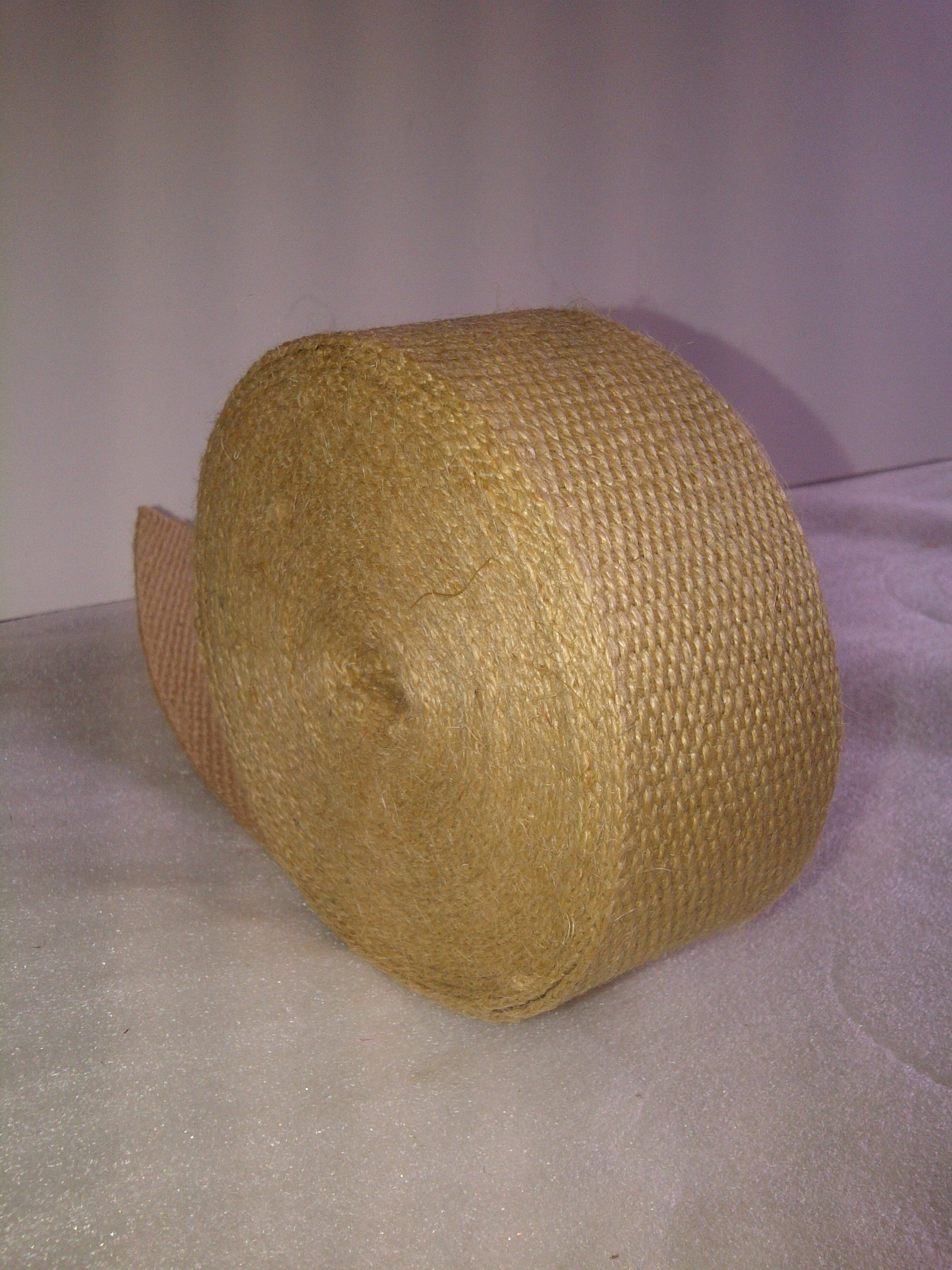 "No Stripe Natural Webbing 2"" Wide - 10 Yard Roll"