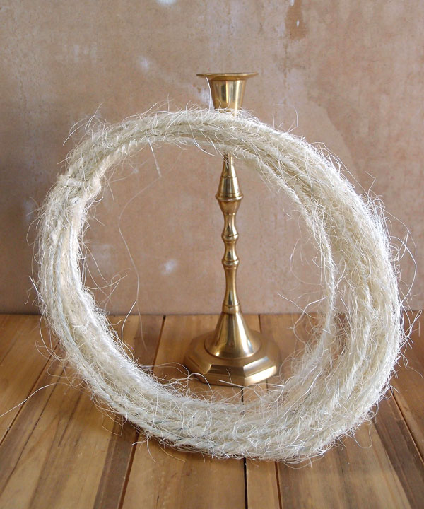 Wired Natural Sisal Twine - 10 Meters