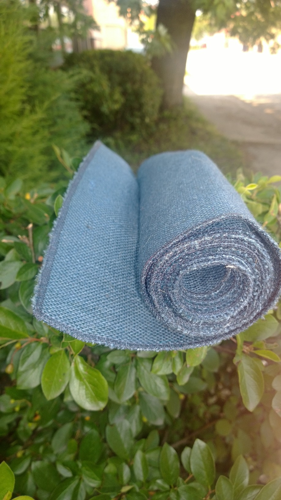 Colored Burlap Table Runners