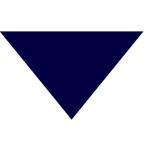 "Navy Triangle Bandanas 22"" x 22"" x 30"" (12 Pack)"