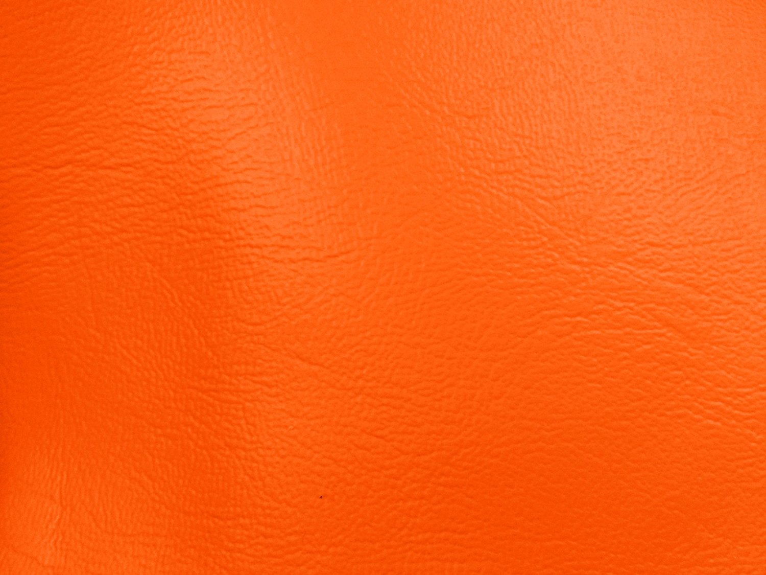 "54"" Orange Leather-like Upholstery Vinyl -Per Yard"