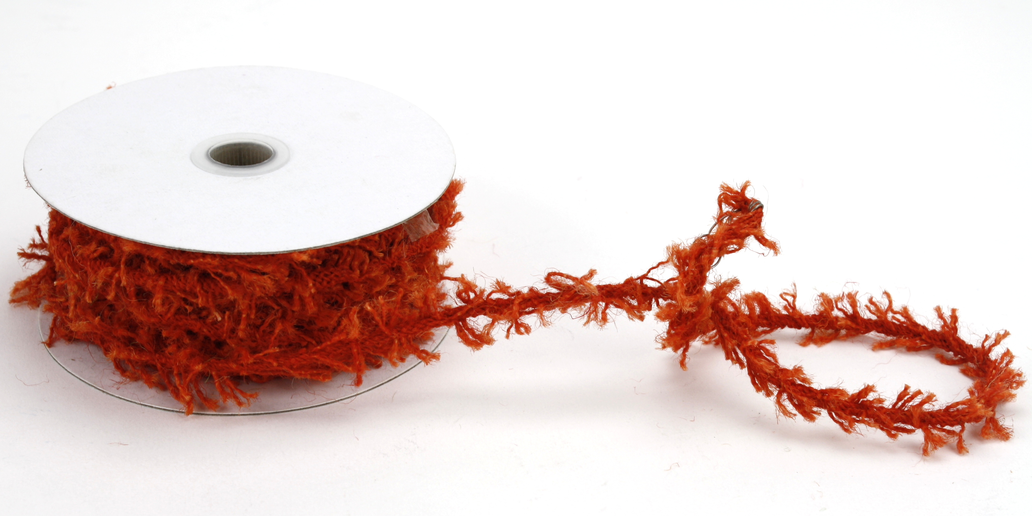 Orange 8mm Wired Jute Twine x 10 Yards