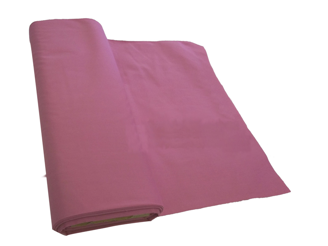 "Pink Broadcloth Fabric 45"" - By The Yard"