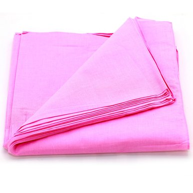 "Pink Bandanas - Solid Color 22"" X 22"" (12 Pack)"