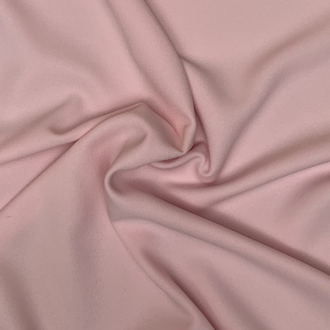 "Pink Crepe Fabric - 60"" By the yard (100% Polyester)"