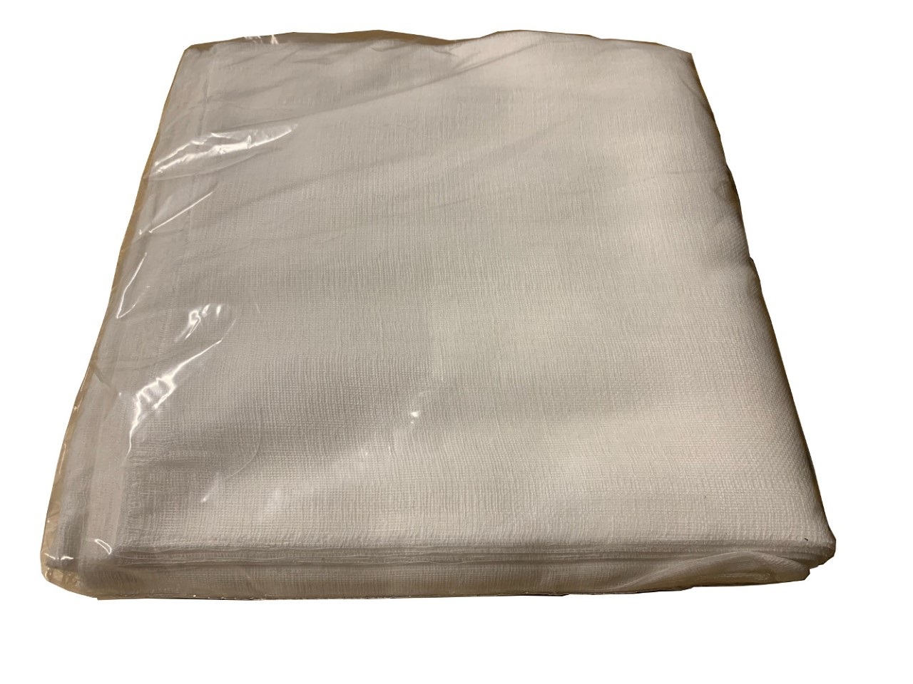 "Grade 50 Bagged Cheesecloth 10"" x 20"" - 100 Pack (Bleached)"