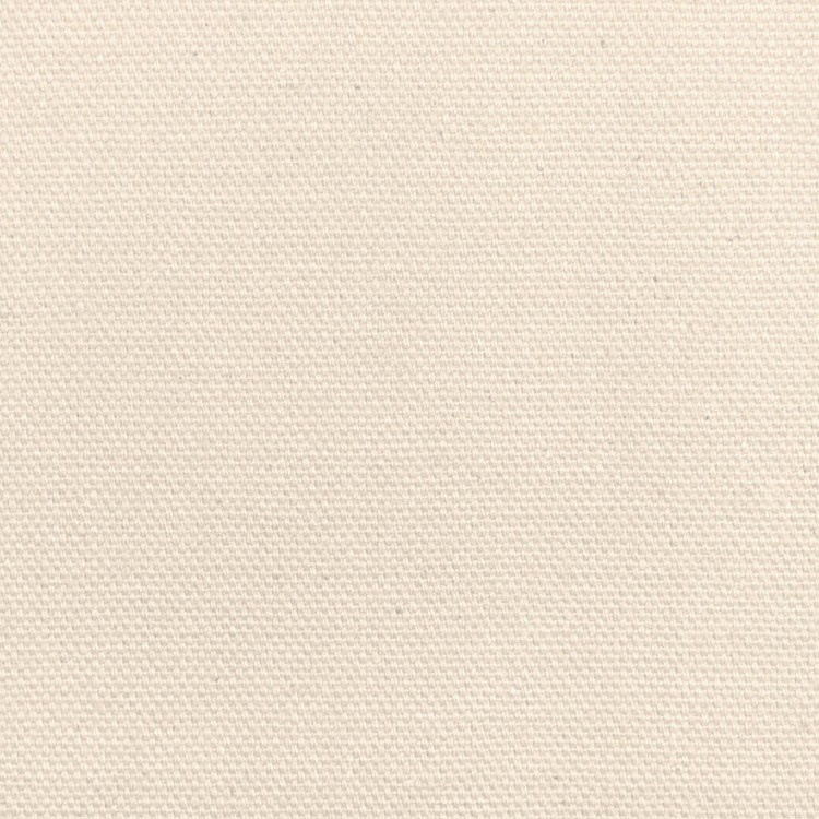 "60"" Wide Pure Cream Duck Cloth - By The Yard"