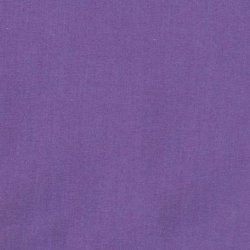 "Purple Broadcloth Fabric 45"" - By The Yard"