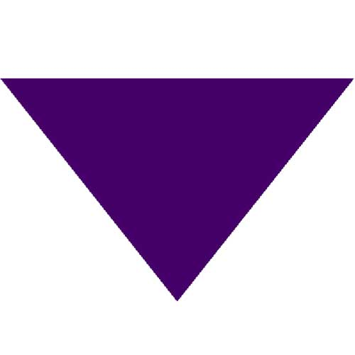"Purple Triangle Bandanas 22"" x 22"" x 30"" (12 Pack)"