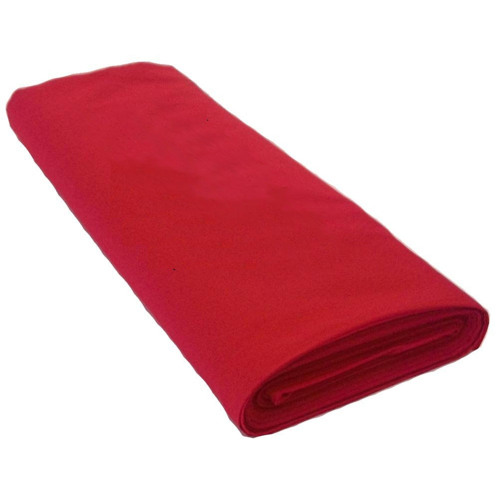 "45"" Red Muslin Fabric Per Yard - 100% Cotton"
