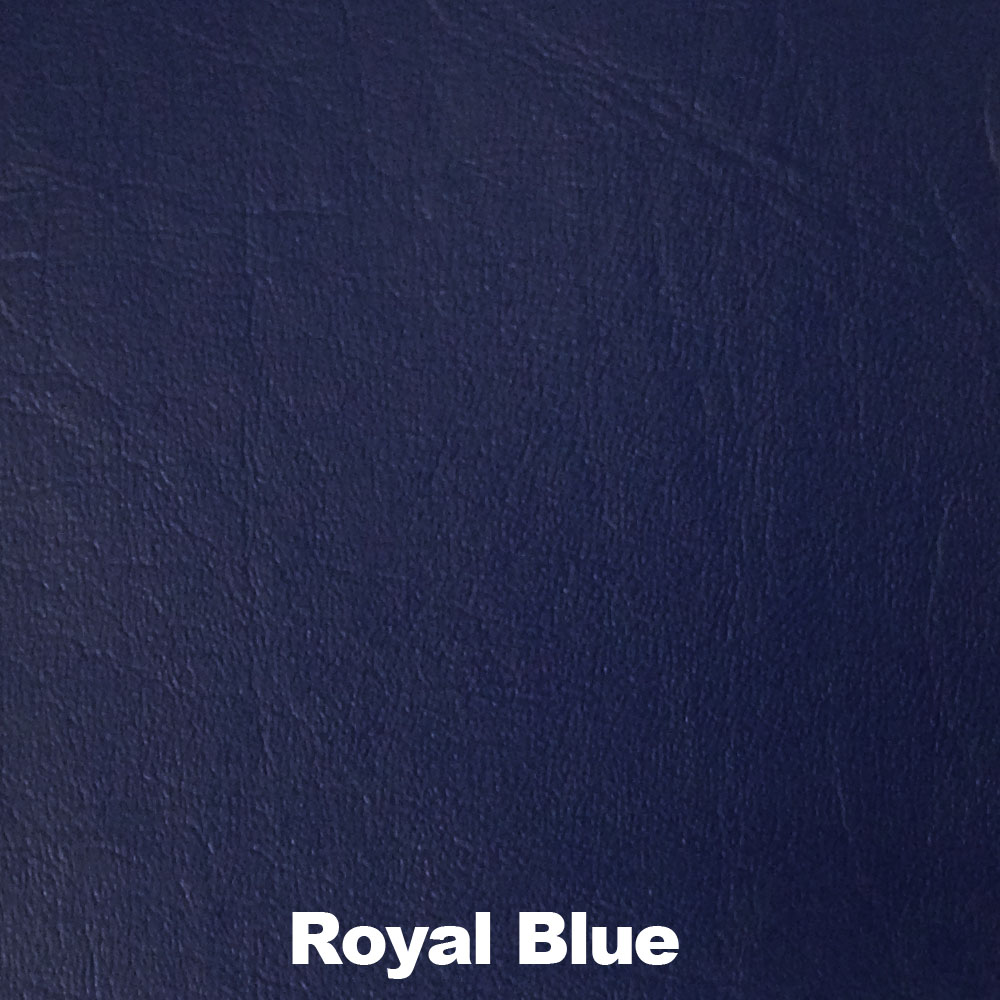 "54"" Royal Blue Leather-like Upholstery Vinyl - Per Yard"