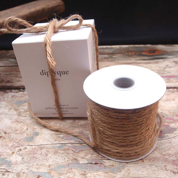 3.5 mm Natural Jute Twine - 25 Yards
